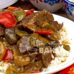 Pepper steak is totally delicious made in the slow cooker.