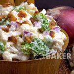 Creamy Cauliflower Broccoli Salad