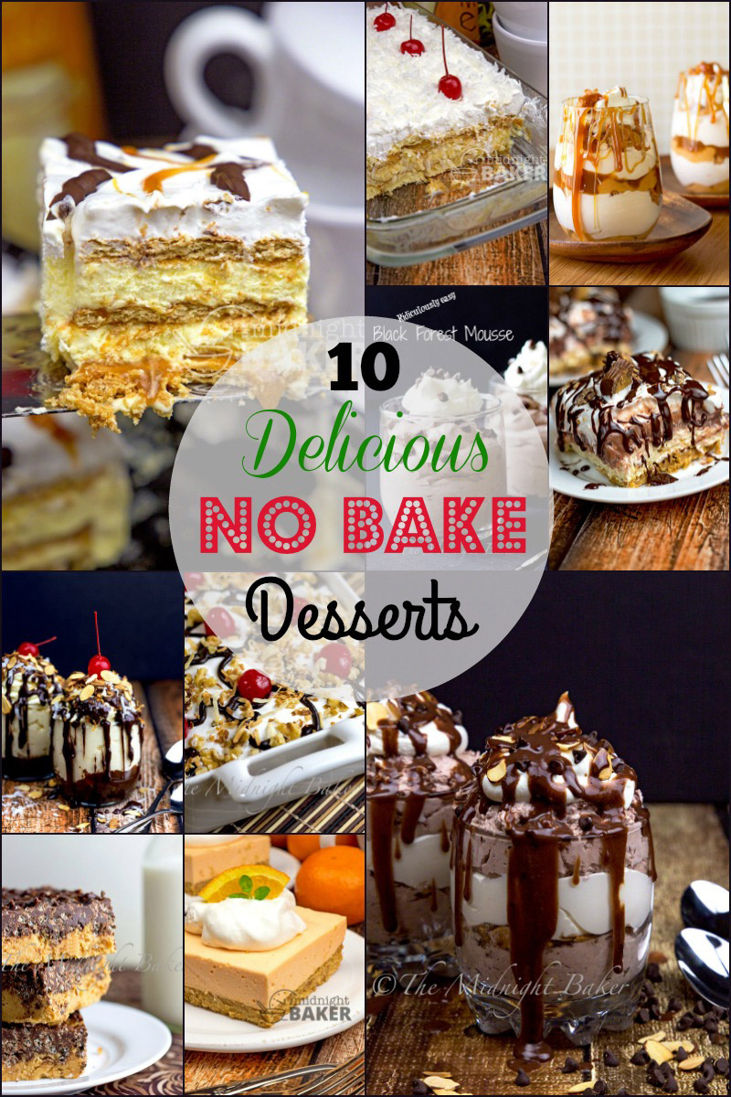 Ten delicious no-bake desserts