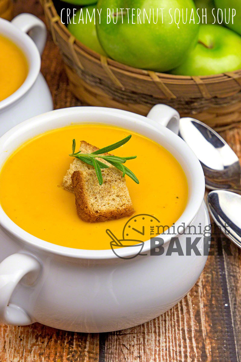 how to make butternut squash soup youtube