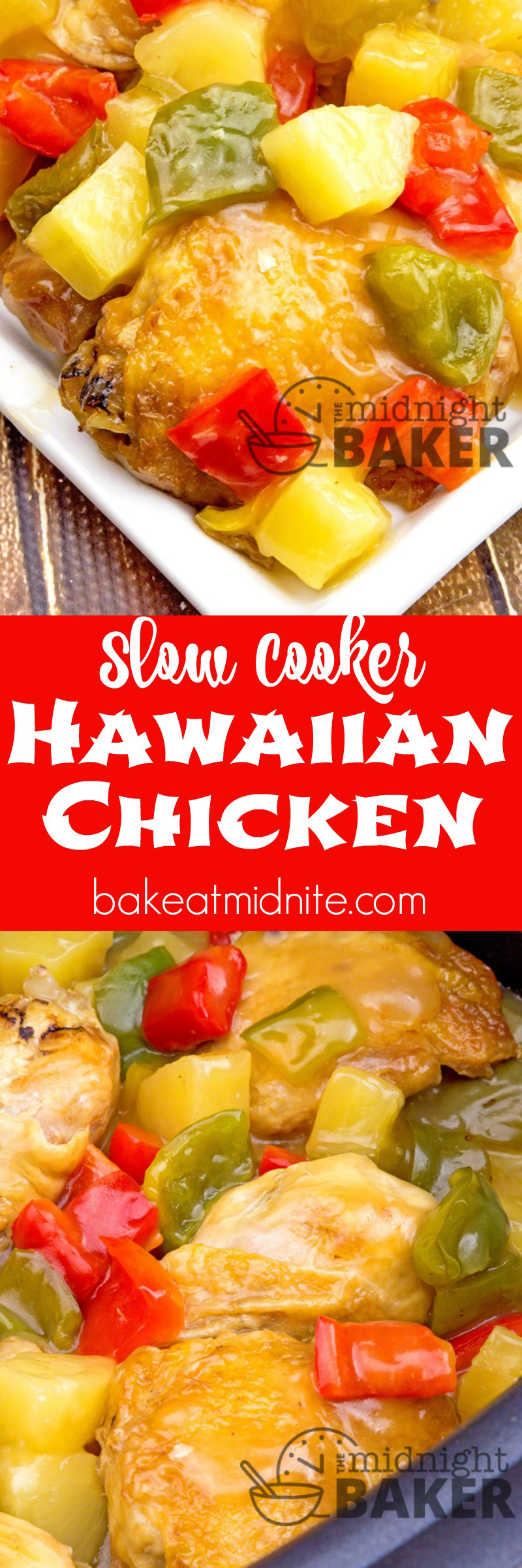 Chicken Slow Cooked In A Delicate Sweet And Sour Sauce With Hawaiian Pineapple And Bell