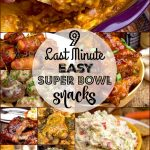 Easy snacks for your Super Bowl party!