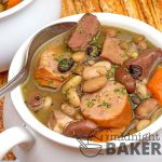 Mixed Bean Soup with Ham & Kielbasa
