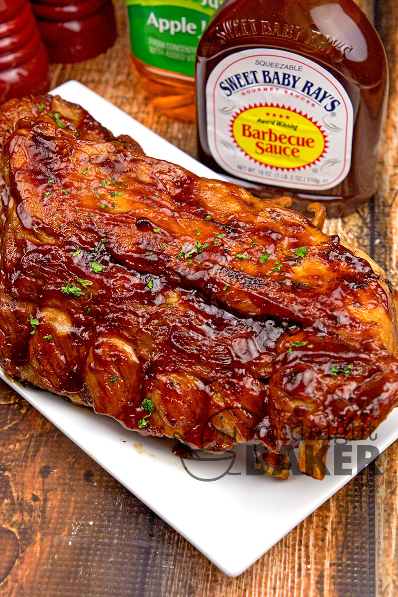 These sweet and sticky ribs have a secret ingredient for awesome flavor. Make them in the Instant Pot or slow cooker!