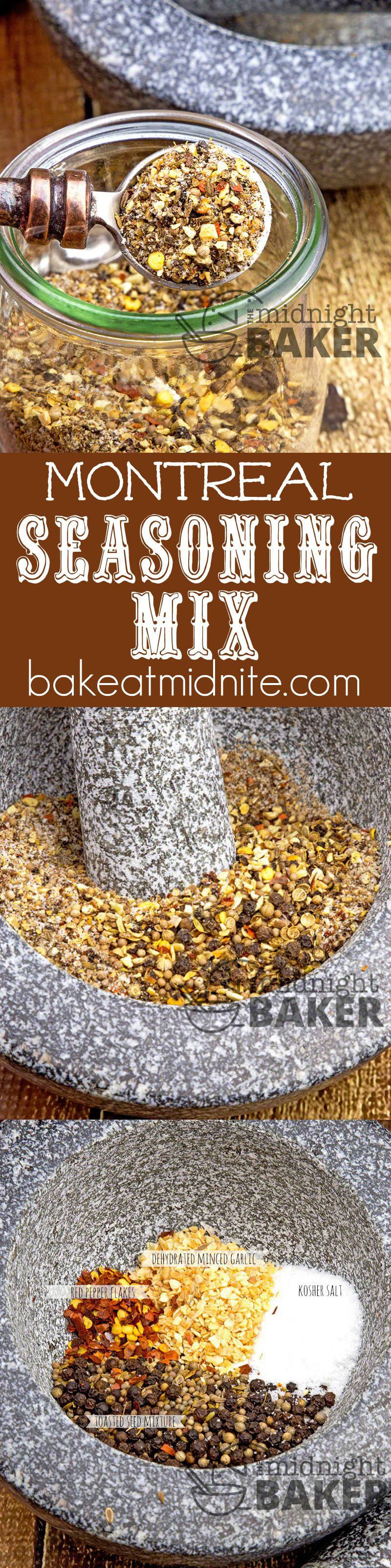 Now you can make the famous Montreal Seasoning right at home! Delicious on steaks and chops!