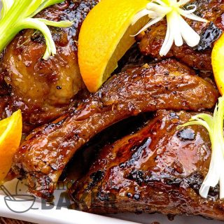 Delicious cantonese-style ribs with a hint of orange. Do them crock pot or Instant Pot