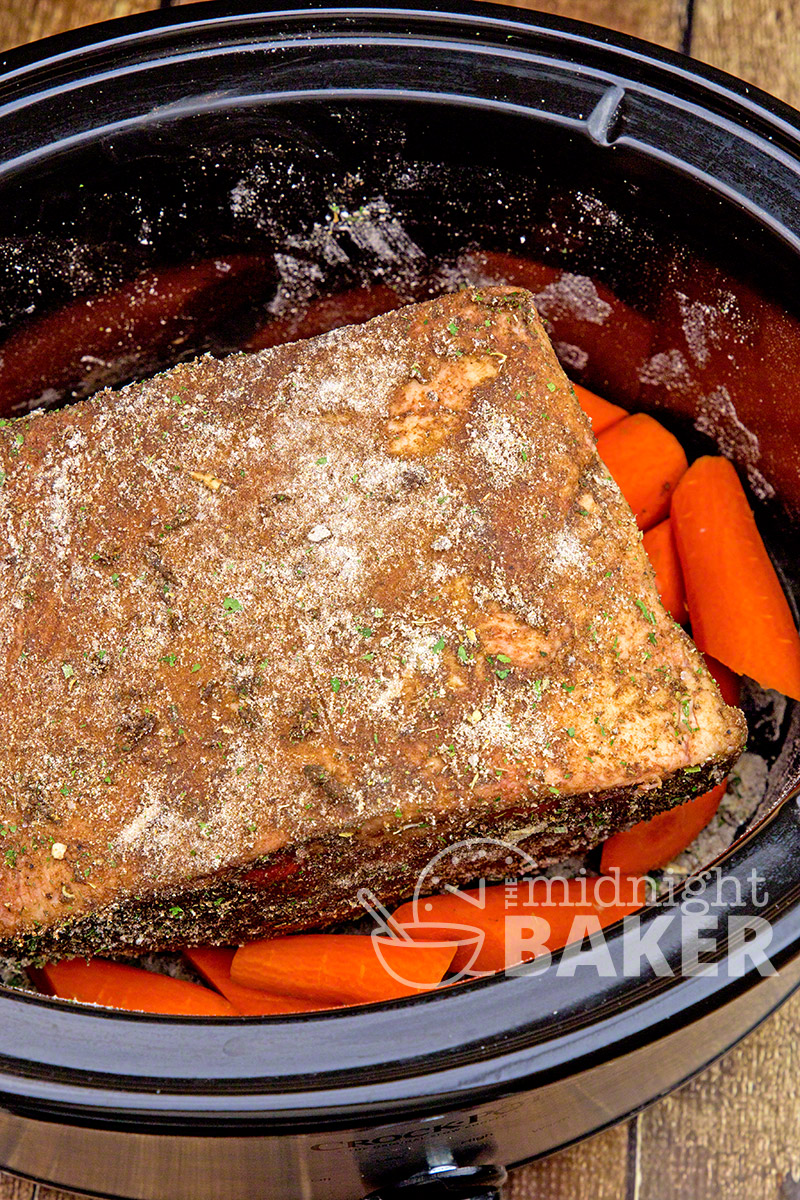 Slow cooker does all the work with this delicately flavored ranch pot roast!