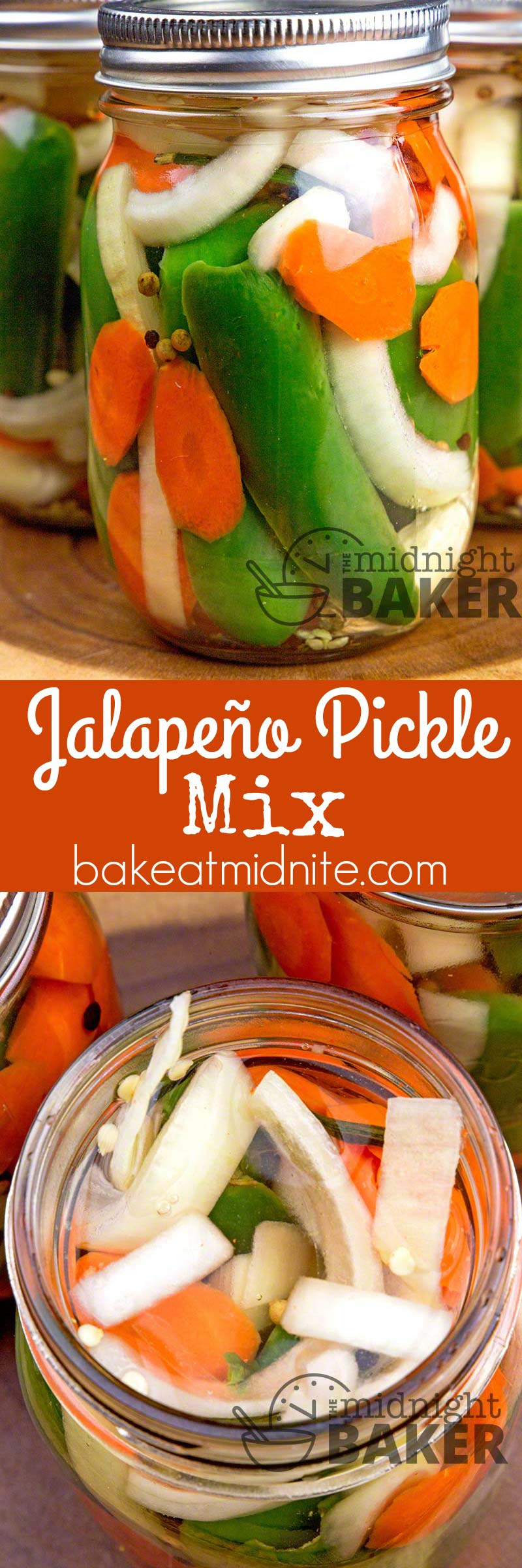 This zesty jalapeno pickle mix is sure to be a hit with hot pepper lovers