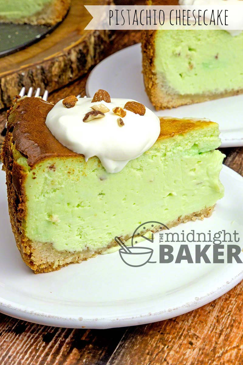 This Pistachio Cheesecake Is The Perfect Dessert Rich Creamy And Decadent