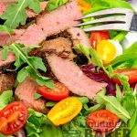 Teriyaki Steak Salad with Sesame Soy Dressing