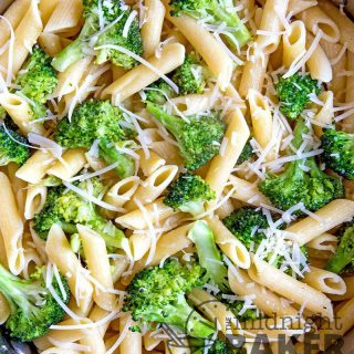 Crisp broccoli and zesty garlic make this meatless pasta meal so good they'll beg for seconds. Easy to make too.