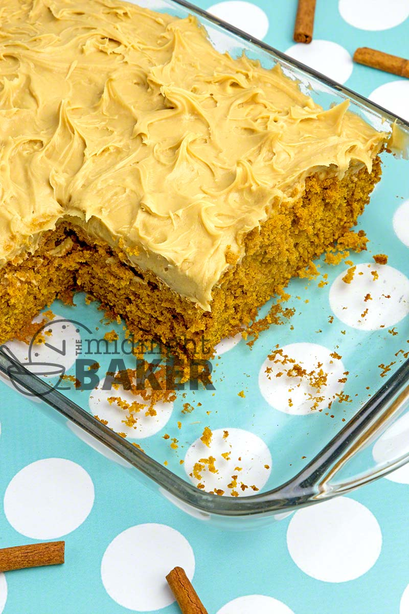 pumpkin sheet cake pumpkin cake with molasses cheese frosting the 6861