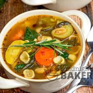 Here's a delicious soup that's also a great vegetarian meal! Vegan option included, but you don't have to be either to love this soup!