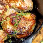 Cranberry Stuffed Pork Chops