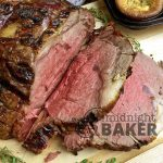 The king of roasts, prime rib, gets a great infused garlic flavor when prepared in a non-traditional way