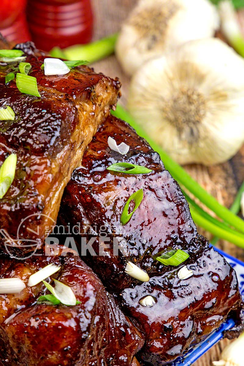 Delicious and succulent ribs with a Chinese flair! Easy to make and easier to eat!