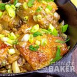 Garlicky Lime Chicken with Scallions