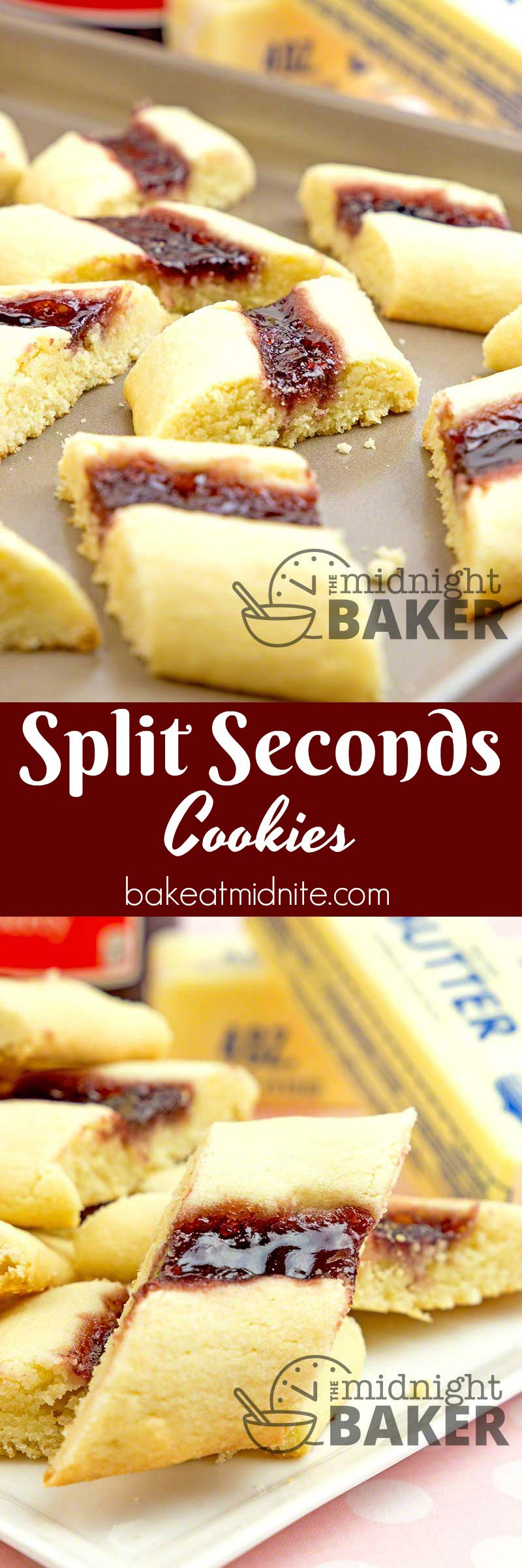 A beloved cookie for over 60 years. They originally from an old Pillsbury bake-off. They endure because they're tasty and very easy to make.