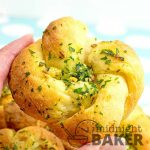 You won't believe how easy these garlic knot rolls are. The dough is only two ingredients!