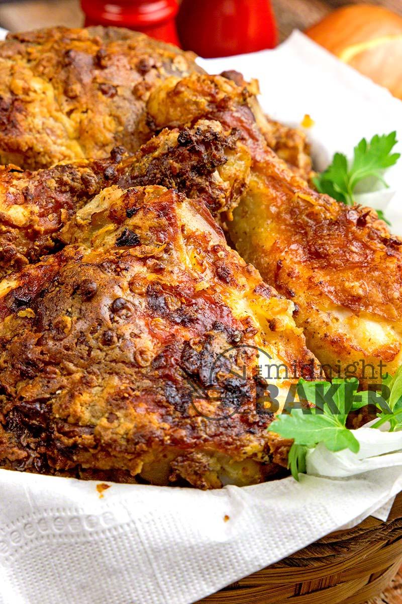 Crispy Low Fat Air Fryer Chicken The Midnight Baker