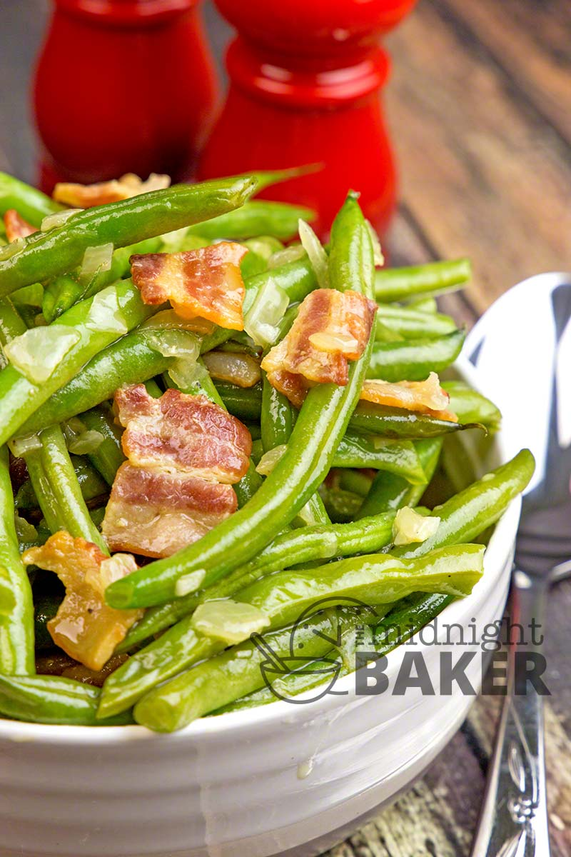 Who doesn't love the green beans at Cracker Barrel? This recipe uses fresh or frozen and they taste even better.