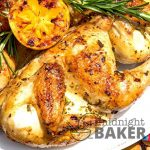Rosemary Garlic Cornish Hens