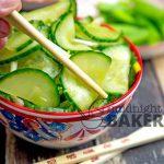 Ginger Garlic Cucumber Salad