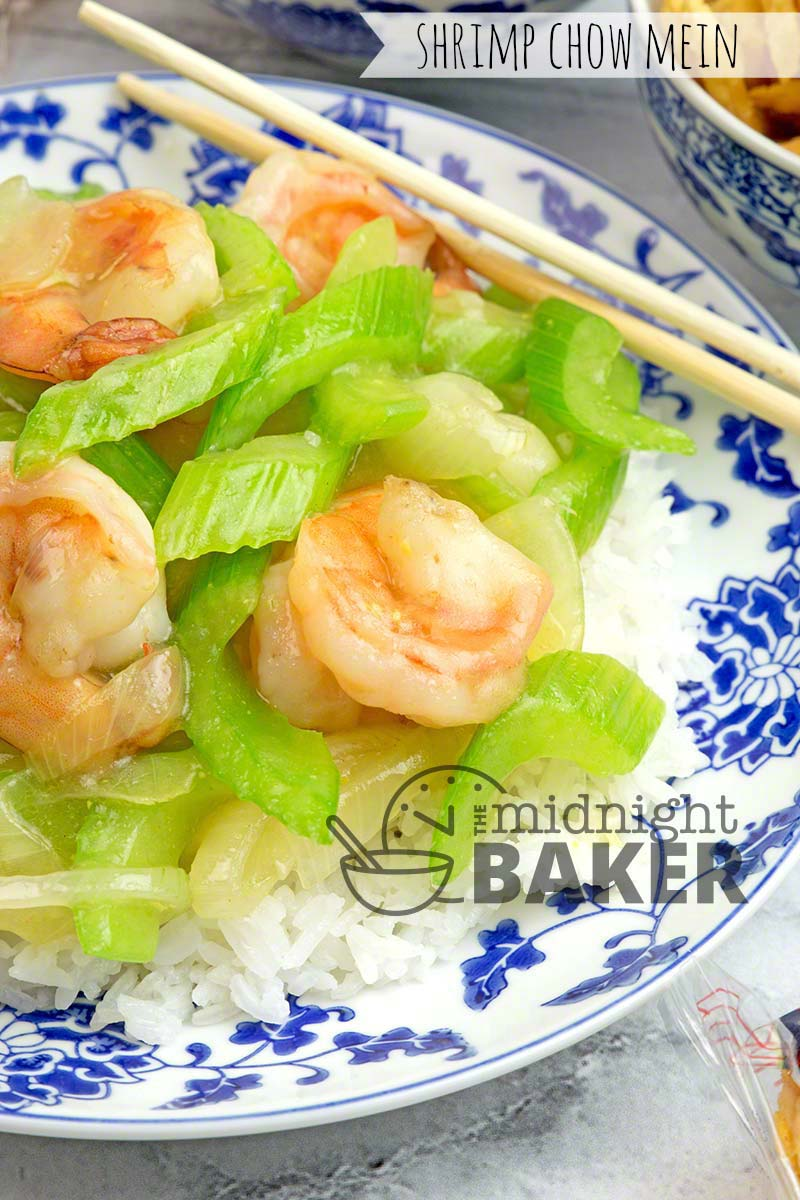 Hold the takeout and make this quick cooking shrimp chow mein at home.