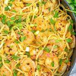 Bang Bang Shrimp With Pasta