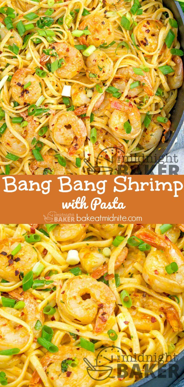 A slightly milder version of the famous bang bang shrimp.