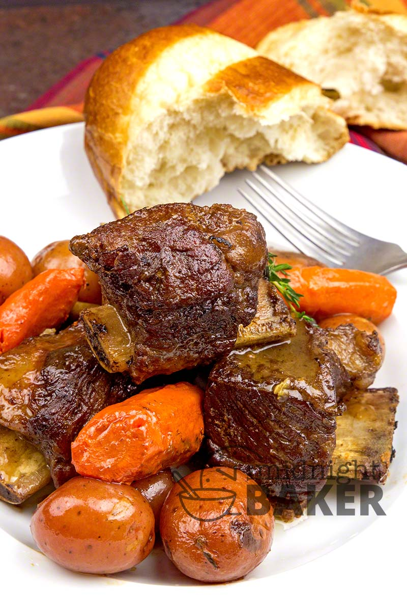 These short ribs are heart and warming. Perfect for a cold night/