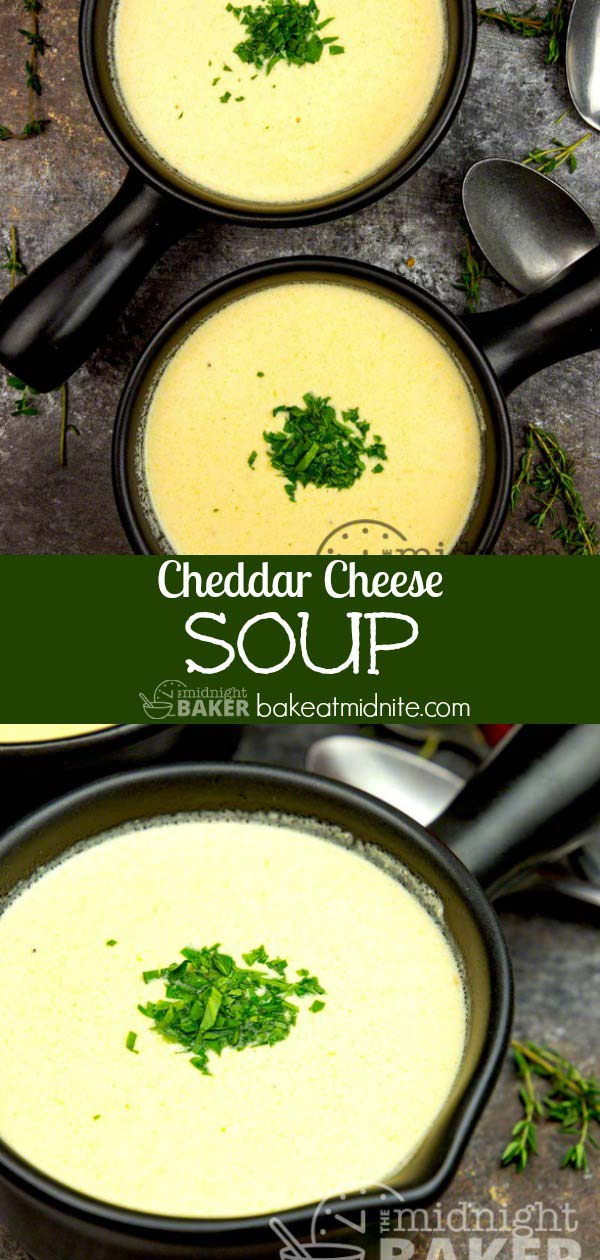 This soup is bursting with cheddar cheese flavor and is the perfect comfort dish for a cold winter night.