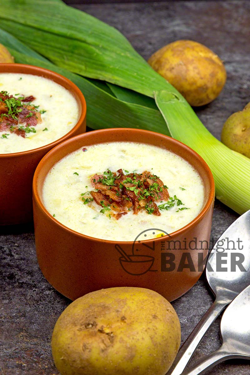 Warm and comforting soup with the great taste of leeks!