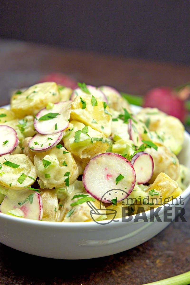 This potato salad is extra special with a great dressing.