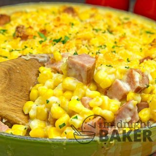 Made with the kielbasa, this creamy corn casserole is a satisfying main dish. Leave out the kielbasa, and it's a great side.