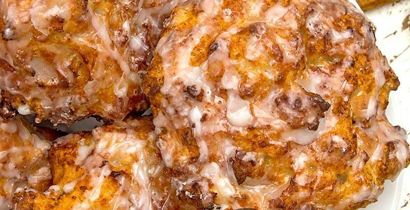 Air Fryer Apple Fritters