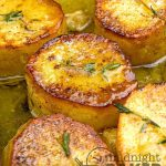 Potatoes that melt in your mouth. Yummy served with roast beef.
