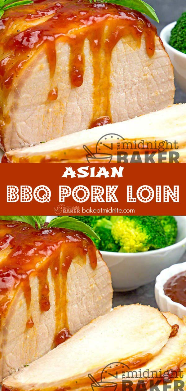 Simple yet scrumptious Asian-style pork loin is so simple to make.