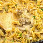 If you want dinner fast and with no fuss this creamy French onion beef and noodles is a recipe you'll love.