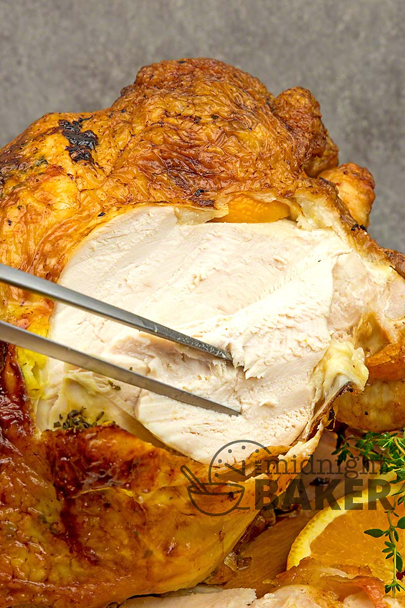 The simple flavors of orange and thyme make this turkey breast outstanding.