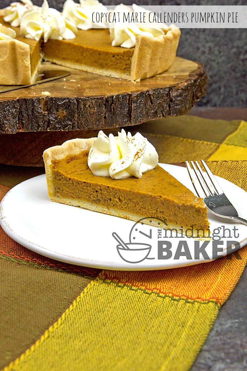 Pumpkin pie isn't just for Thanksgiving! Try this amazing copycat recipe and you'll be serving it year round.