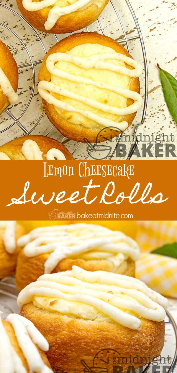 These lemon filled cheesecake rolls are so delicious you won't believe how easy they are to make.