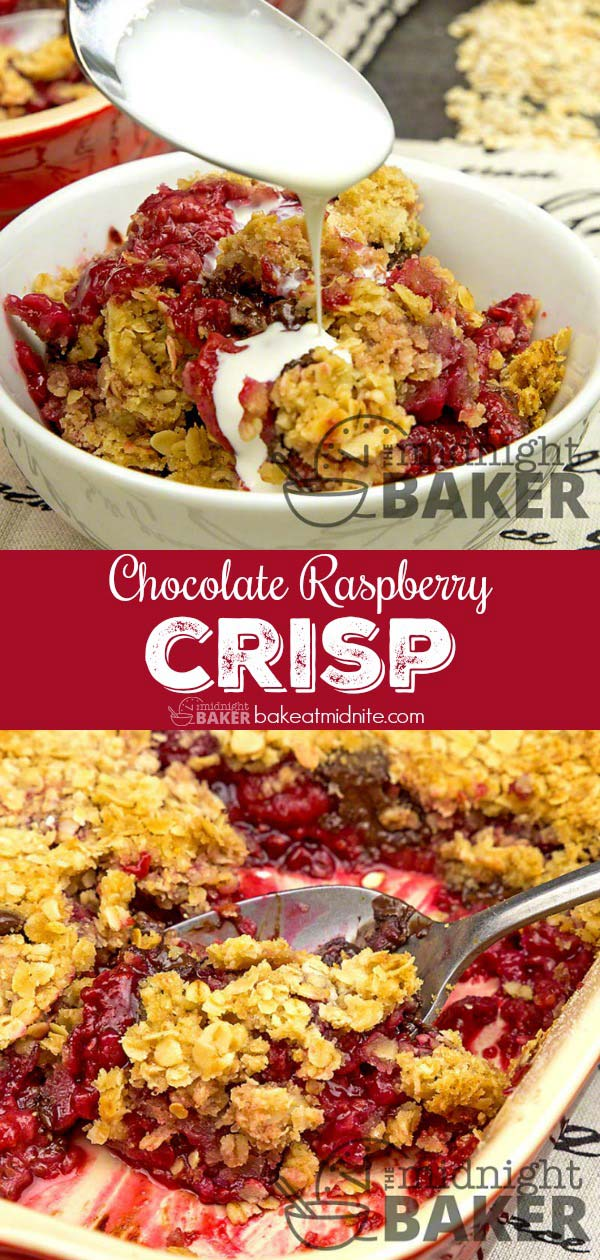 An easy dessert that combines the flavors of dark chocolate and raspberry.
