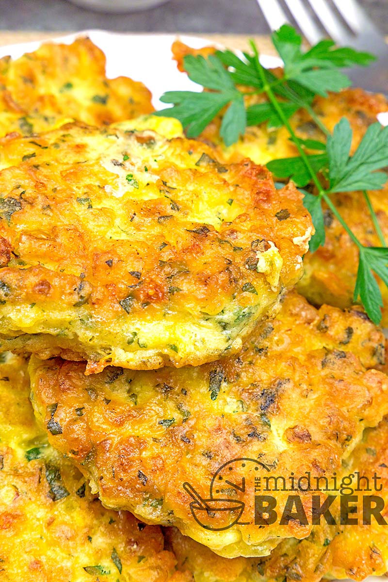 What's better than a corn fritter? Use them as a side or a snack.