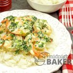 Delicious shrimp with a florentine flairthat's easy and economical enough for a mid-week mea..