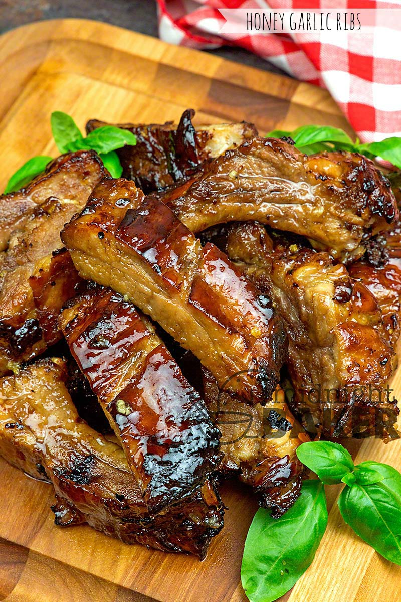 Ribs just for garlic lovers! They're easy to make and better to eat.
