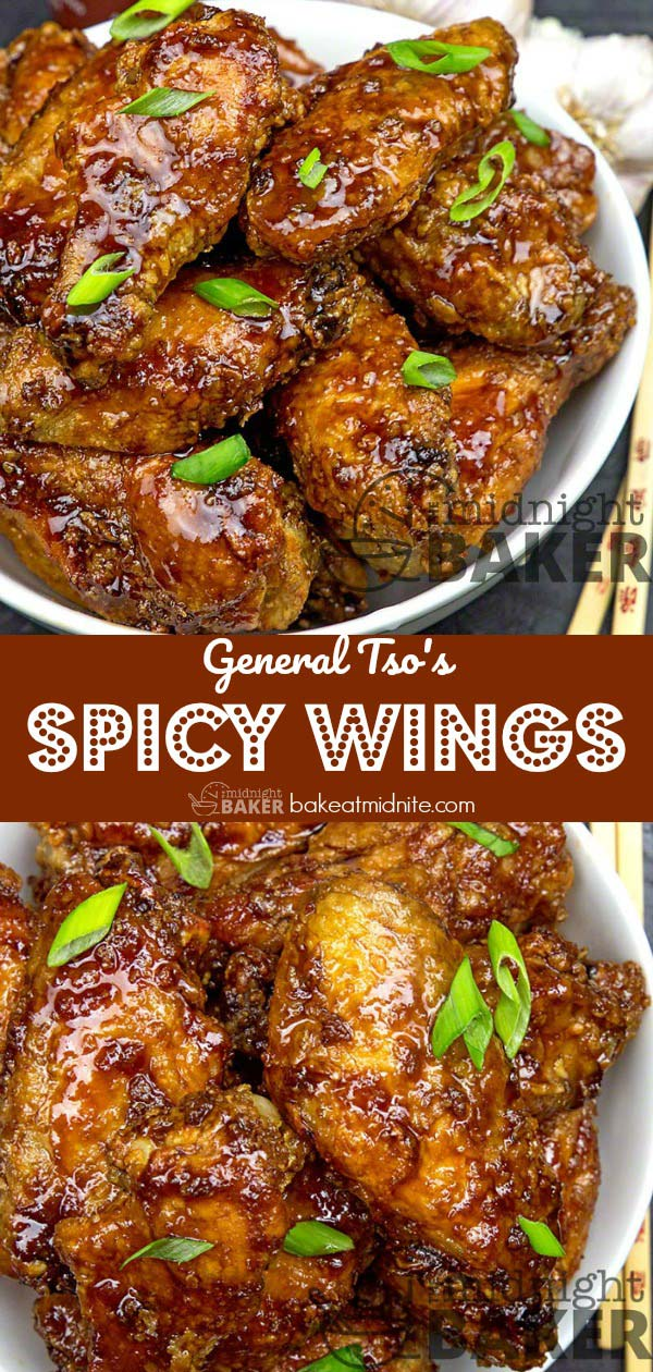 If you love General Tso's chicken, you'll love these wings.