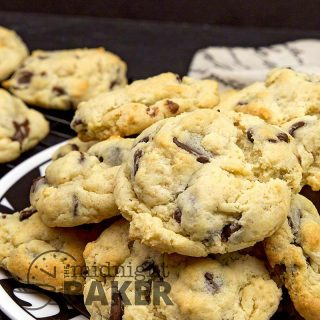 Delicious combo of orange and dark chocolate combine in these chewy cream cheese cookies