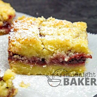 These quite possibly, taste better than traditional linzer tarts.