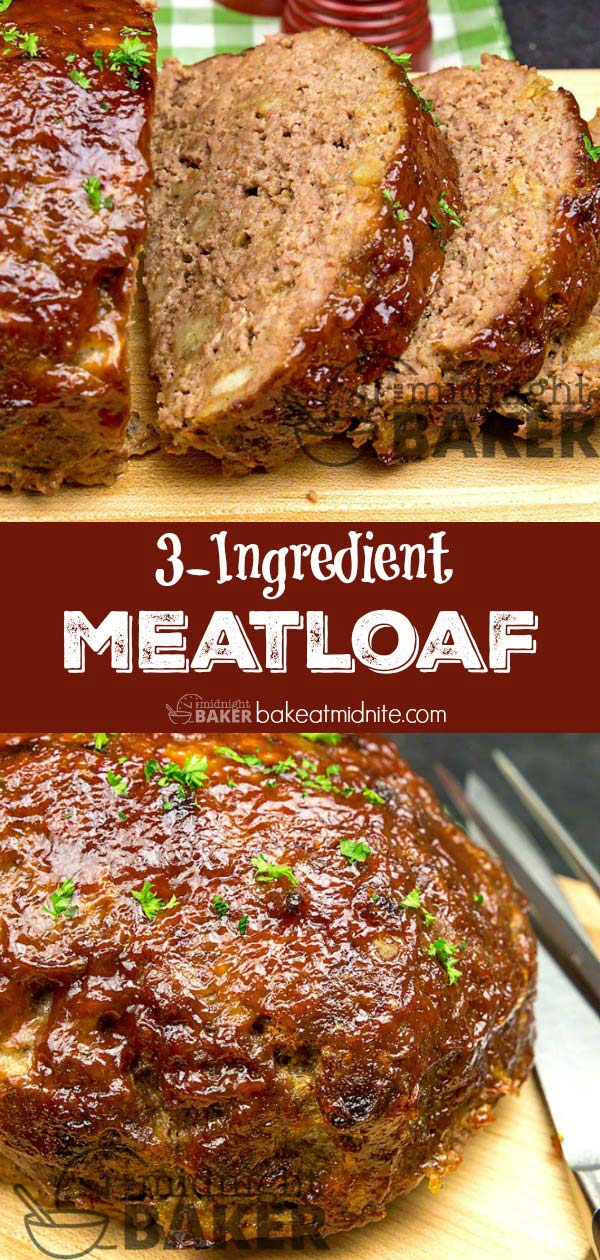 Just 3 basic ingredients and one just might be a leftover!